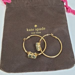 Kate Spade NY Gold Hoop Earrings
